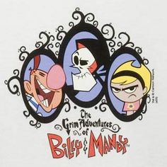 "Childhood Cartoon Network cartoon, ""The Grim Adventures of Billy & Mandy"". Childhood Tv Shows, 90s Childhood, My Childhood Memories, Cartoon Network Shows, Cartoon Tv Shows, 90s Tv Shows Cartoons, Cartoon Characters 90s, 2000s Cartoons, Cool Cartoons"