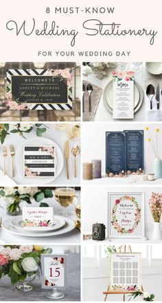 8 Must-Know Wedding Stationery for Your Wedding Day