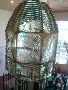 A lighthouse bulb
