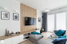 MIESZKANIE 72m2 - Salon, styl minimalistyczny - zdjęcie od KRAMKOWSKA | PRACOWNIA WNĘTRZ