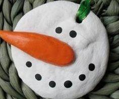 salt dough mitten ornament - Google Search