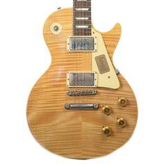 Gibson Custom Shop True Historic 1959 Les Paul Reissue Natural Enhance Top NH PSL Floor Model