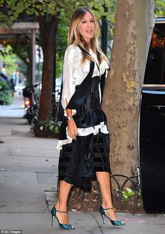 Flawless! Sarah Jessica Parker looked stunning when she stepped out in New York City on Wednesday