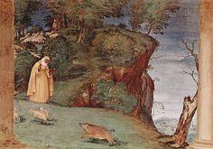 Lorenzo Lotto-Oratorio Suardi, 1524, affreschi, Trescore Balneario