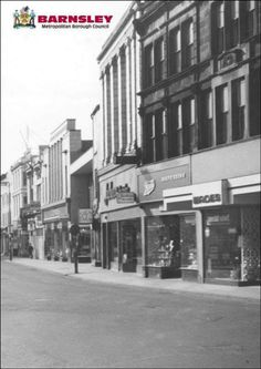 Cheapside Barnsley 1960