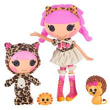 Lalaloopsy Sisters Dolls - Kat Jungle Roar and Whiskers Lion's Roar. My dani is in love with lala loopsy.
