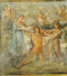 Pentheus and the Maenads - Roman