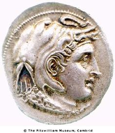 Ptolemy I's Alexander coin, from the Fitzwilliam collection.
