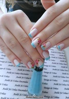 40 Very impressive collection of nails 2018 - Reny styles Cute Nails, Pretty Nails, Nails 2018, Cookies Et Biscuits, Nail Arts, Spring Nails, Craft Videos, Nails Inspiration, Beauty Nails