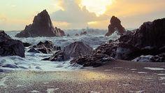 Skály, Pobřeží, Písek, Beach