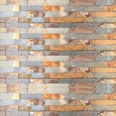 Country Copper Stacked Stone - Designer Tile Company