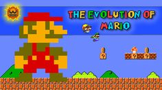 The header image for our evolution of #Mario article.  If you like #SuperMario I would recommend giving it a read, click: http://www.superluigibros.com/evolution-of-mario