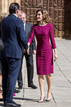 1 June 2016 - Queen Letizia and King Felipe attend the National Culture Awards 2015 in Palencia, Spain