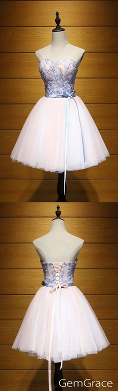 Short tulle party dress