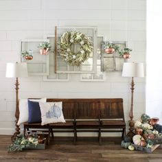 Fall Entryway Decor - Copper and Navy Blue Pumpkins farmhouse fall decorations navy blue pumpkins vintage copper farmhouse fall decorations navy blue pumpkins vintage copper Home Design, Luxury Interior Design, Design Ideas, Diy Design, Farmhouse Paint Colors, Farmhouse Decor, Vintage Farmhouse, Home Renovation, Fall Entryway Decor