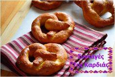 Soft Pretzels Food N, Good Food, Soft Pretzels, Group Meals, Greek Recipes, Bon Appetit, Bagel, Delicious Desserts, Sweets