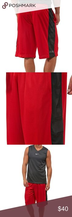 Nike Mens Elite Stripe Basketball Shorts Nike Mens Elite Stripe Basketball Shorts Nike Shorts Athletic