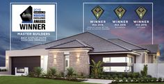 2018 HIA Winner Display Home of the year, The Odyssey is a spacious home, designed for seamless and functional entertaining with family and friends. Modern House Plans, Modern House Design, Bungalow Floor Plans, Mountain House Plans, Trophy Rooms, Excellence Award, Display Homes, Home Additions, Cabin Homes