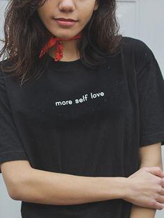 Self Love Tee - Black