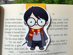 Harry Potter Magnetic Bookmark by BeedooTO on Etsy