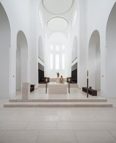 dwell magazine Following the advent of modernism, sacred architecture continues to reinvent religious expression.