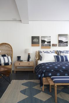 28 ideas bedroom hotel sea for 2019 Cottage Style Front Doors, Beach Cottage Style, Beach House Decor, Home Decor, Bedroom Colors, Bedroom Decor, Villas, Surf Bedroom, Suites
