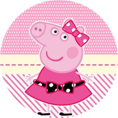 Miss Peppa Pig - Mini Kit Festa Infantil! Peppa Pig Images, Peppa Pig Cartoon, Peppa Pig Gratis, Familia Peppa Pig, Peppa Pig Wallpaper, Pig Png, Papa Pig, Lol Doll Cake, Cumple Peppa Pig