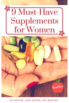 Whether you are a woman in your or here are the best vitamins and supplements for women that you should make sure to get enough of for your health wellness and vitality. Diet and Nutrition 9 Must-Have Nutrients For Women's Vitality And Balanced Diet Nutrition Education, Health And Nutrition, Health And Wellness, Proper Nutrition, Nutrition Guide, Health Diet, Fitness Nutrition, Holistic Nutrition, Nutrition Store
