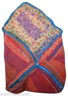 Home, Furniture & Diy Industrious Vintage Kantha Quilt Indian Handmade Cotton Bedspread Sashiko Throw Bedding Bedding