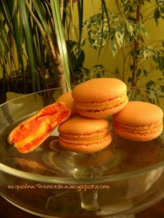 Acquolina: macarons al pompelmo rosa