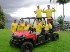 See Waipio Valley on ATV!  With vistas from the mile-wide black sand beach to the 1200-foot splendor of the twin Hi'ilawe Falls, Hawaii's ...