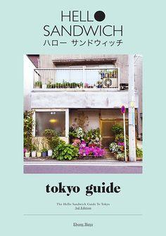 HELLO SANDWICH TOKYO GUIDE ZINE (THIRD EDITION)