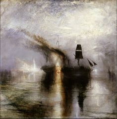 """""""Pace - Seppellimento in mare"""" 1842  Dimension: 111 x110 cm  Tate Gallery, Londra"""