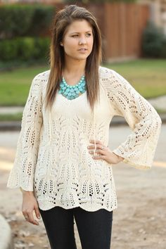 Crochet Sweater :cute clothes: at www.modernego.com/crochet-sweater.html