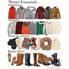 """Winter Essentials"" by prepofthemidwest on Polyvore"