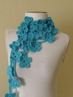 Geweldig zo'n sjaal!!! Geen patroon