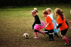 Are any of your teams dressing up for soccer practice?