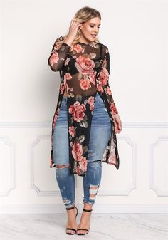 The Curvy Girl's Guide: Top 10 Plus Size Outfit Ideas for Summer and Winter Curve Fashion, Look Fashion, Plus Fashion, Fashion Wear, Curvy Fashion Plus Size, Plus Size Fasion, Plus Size Chic, Spring Fashion Outfits, Curvy Plus Size