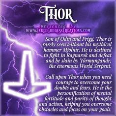 July 29th is the Festival of Thor, invoking his fertility aspect and praying for good harvest weather. Our infatuation with the Norse God of Thunder may seem a modern fad, but he has been popular with Germanic pagans throughout the ages, even during and after the Christian conversion of Scandinavia. #divinemasculine #thor #norse #god #thunder #pagan