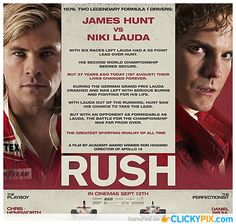 Rush The Movie will you see it?