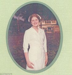 Nursing school: Robert Harling says: 'My mother was a nurse and Susan wanted to be a paedi...