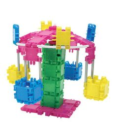 Loving this Deluxe Glitter Clics Building Set on #zulily! #zulilyfinds