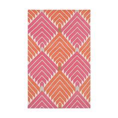 Pink & Orange Lulu Cotton Carpet