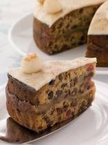 Irish Easter Food- The Simnel Cake signifies the end of Lent which is a period of fasting and repentance culminating in a feast of seasonal and symbolic foods. The Simnel Cake recipe is rich with fruits, spices and marzipan, all forbidden during the period of Lent.