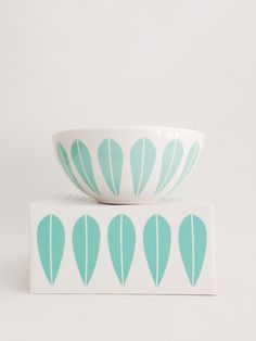 Lucie Kaas designed by Arne Clausen bowls Mint Green / Tea and Kate