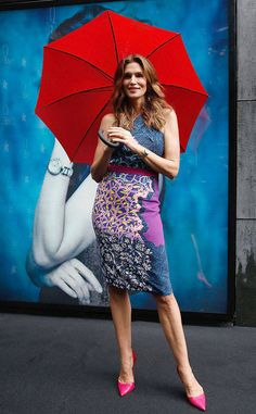 Cindy Crawford's Best Looks: in Peter Pilotto