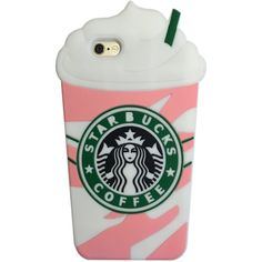 Starbucks Cup Phone Case ($11) ❤ liked on Polyvore featuring accessories, tech accessories and case