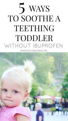 teething toddler