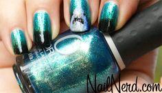 Doo ... she likes beautiful nails and SHARKS