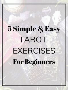 How to Learn Tarot: 5 Easy Exercises For Beginners – Tea & Rosemary What to know more about tarrot? Try this online class Tarot Cards For Beginners, Love Tarot, Tarot Card Spreads, Tarot Card Meanings, Meaning Of Tarot Cards, Tarot Astrology, Tarot Readers, Oracle Cards, Card Reading